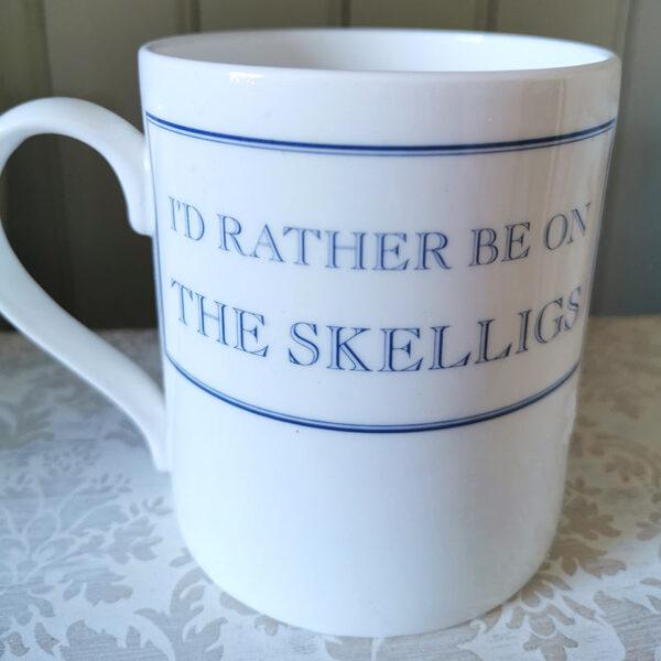 I'd rather be on the Skelligs mug