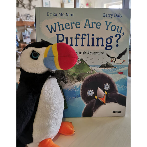 Puffin Toy and Book
