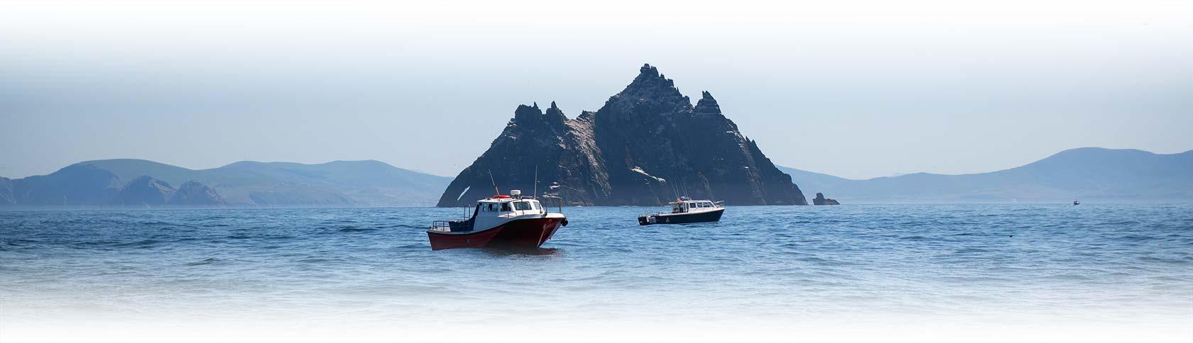 Skellig boats