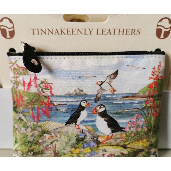 Skellig Islands Leather Purse